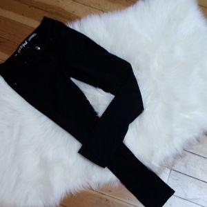 NWOT Cat & Jack black skinny stretch jeans